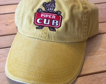 Vintage  Piper Cub ball cap   FREE SHIPPING