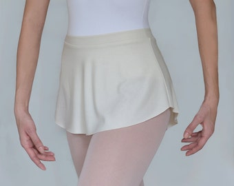 The Cream White Ballet Skirt
