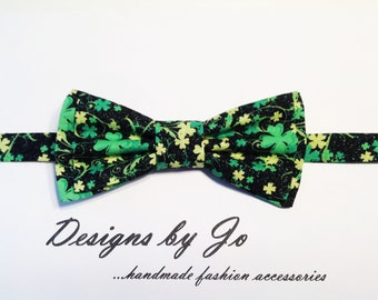 Mens Bow Tie,Green Bow Tie, Formal Bow Tie, Mens Bowtie,Prom Bow Tie,Wedding Bow Tie, St Patricks Day Bow Tie, Mens Fashion Accessories M665