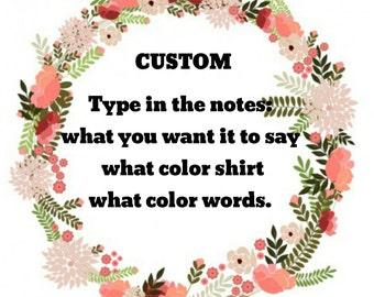 Adult Custom