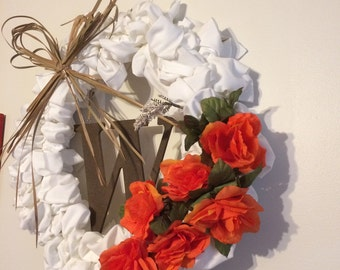 Personalized Cloth Wreath