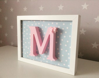Children's Personalised Initial Frame