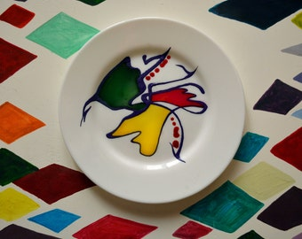 "2 — The ""Alteration"" painted dishes (to order)"