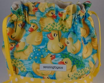 Rubber Duckies project bag