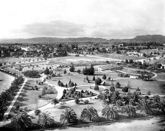 """1913 Lafayette Park, Los Angeles, California Vintage Photograph 8.5"""" x 11"""""""