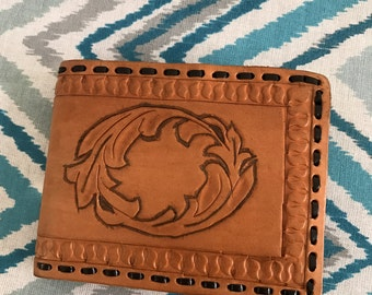 Custom Made Leather Wallet