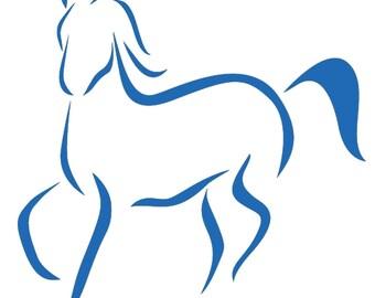 "Nice Sticker ""Horse"""