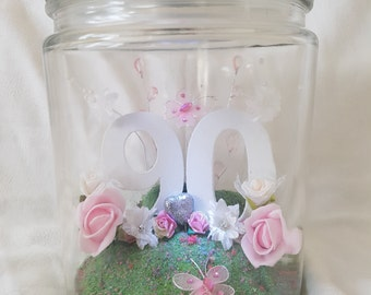 Birthday Flower Jar