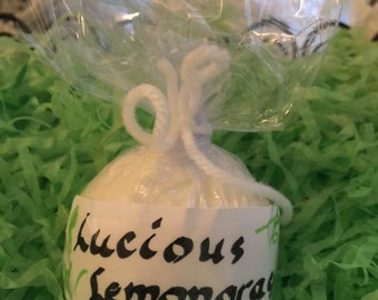 Lucious Lemongrass Bath Bomb