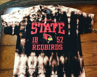 Acid Washed Illinois State T-Shirt