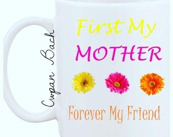 Mothers Day Flower Mug
