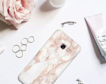 Pink marble case, Samsung S8 Samsung S8 plus Samsung J3 Samsung J5 prime Samsung J7 prime Samsung J2 prime, marble case Samsung A5 2017 case