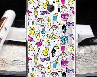 Flamingo case one M7 one M8 one M9 one M10 toucan case 10 htc 10 Lifestyle htc one A9 one E9 + one X9 case htc U11 case htc Bolt HTC 10 evo