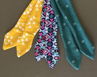 Tie Headbands - Set of 3