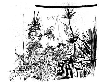 A Plant Dream Print