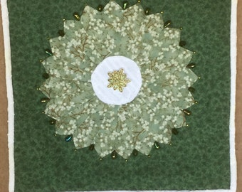 Hand Beaded Pillow Cover