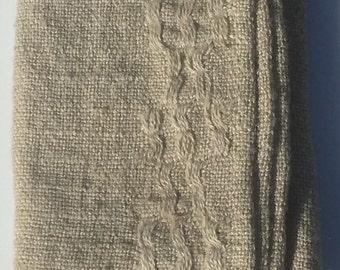 Jute Burlap Open Weave Tea Towels