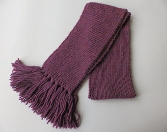 Handmade Purple Women's Scarf