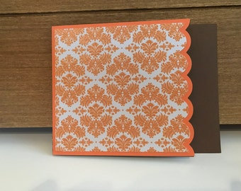 Handmade cards (set of 5 cards with envelopes)