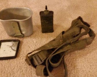 Vintage Assorted Military Lot