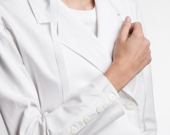 White medical coats and elegant high fashion