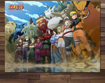 Naruto: Jinchuuriki Poster - Canvas