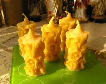 100% beeswax votives