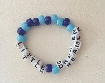 Little dreamer kandi bracelet
