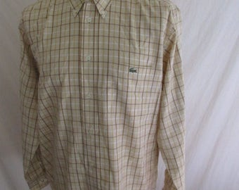 Shirt Lacoste yellow size 42 to-66%