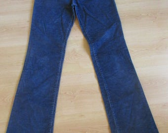 Versace blue size 38 pants to-73%