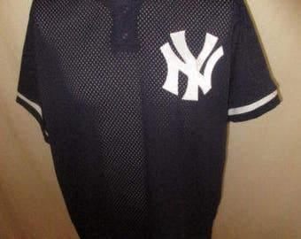 1994 New York Yankees blue size L vintage baseball Jersey