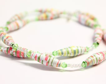 Eco Friendly - Recycled Paper Bead - Beaded Jewelry - Earrings - Jewelry Sets - Necklaces - Bracelets - Handmade Jewelry