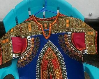 African Dashiki Handmade One of a Kind