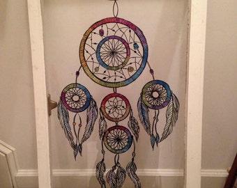 Custom painted window art