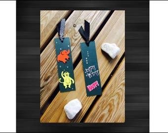 Bookmarks, gift for women, bookmark, gift for men, bookmark, children