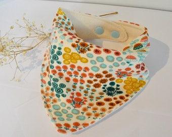 Great organic cotton bamboo bandana bib absorbing scarf baby accessories baby shower gift