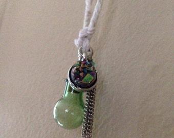 Bottle & Cork Charm Necklace