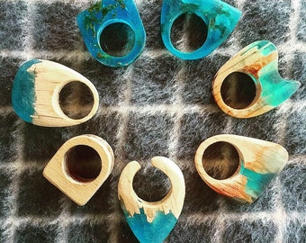 Epoxy Wood Rings