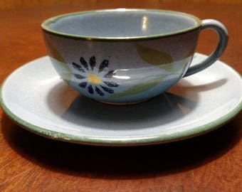 Vintage Cup and Saucer - Italy