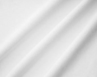 Snow White Minky Fabric Cuddle 3mm