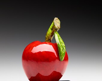 Red Wooden Apple