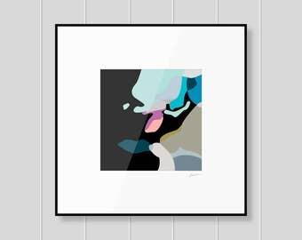 Contemporary art prints, affordable art, giclee art print, scandi art, beautiful wall art, nordic artwork, abstract art print, home decor