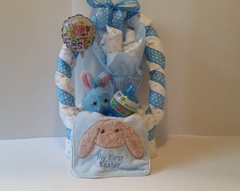 Baby's First Easter Diaper Basket