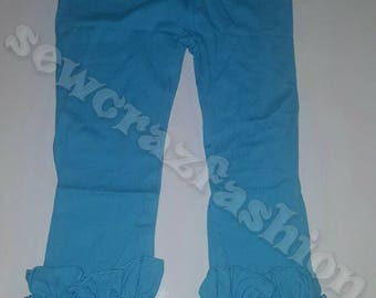 Icing ruffle pants