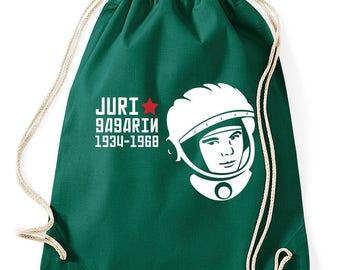 Yuri Gagarin Cosmonaut gym bags