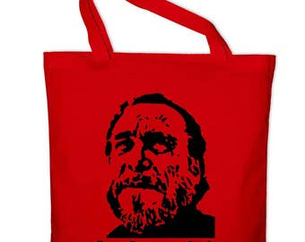 Charles Bukowski Buk fabric cotton bag