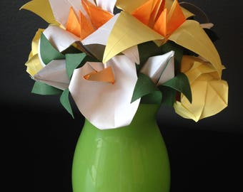 Mothers Day, Easter, or Spring Origami Bouquet