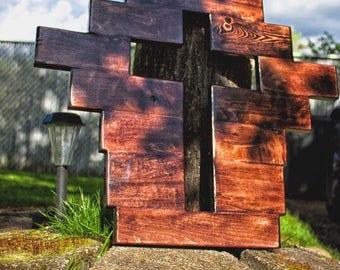 Wooden cross (reclaimed wood)
