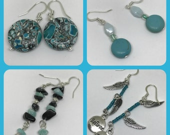 Earrings - Turquoise designs - 4 options