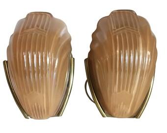 Art Deco Wall Sconce Light Set